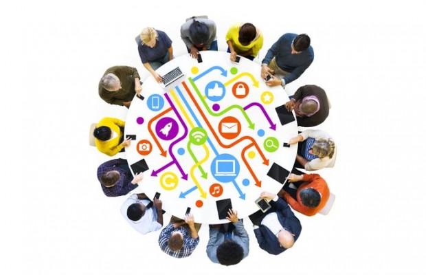 Représentation des différentes méthodes de communication utilisées et favorisées par notre société.