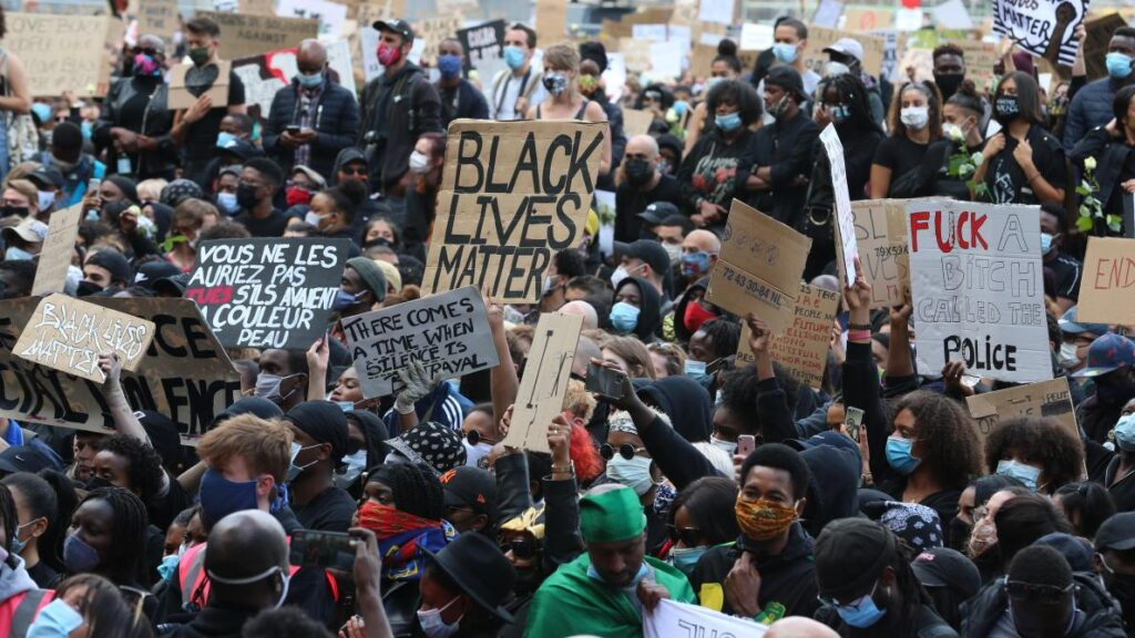 Manifestation du mouvement Black Lives Matter