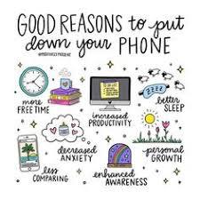 De bonnes raisons pour poser le téléphone